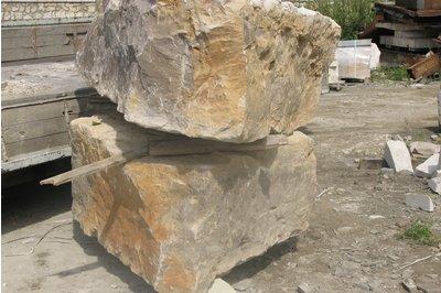 Известняк в бетоне юна бетон